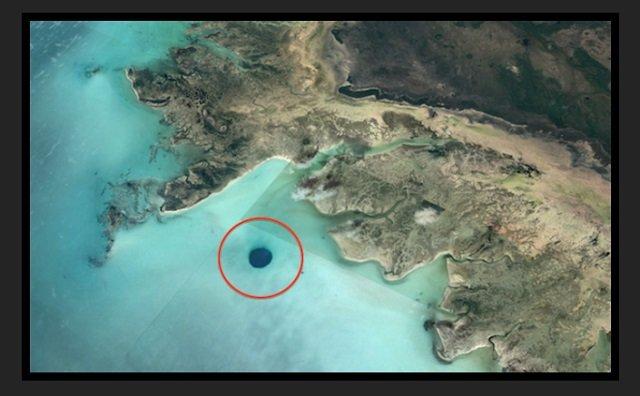 西インド諸島で宇宙人基地のUFO出入口(直径500m)が発見される!! グーグルアースで発覚、研究家断言「海は最高の隠れ場所」の画像2