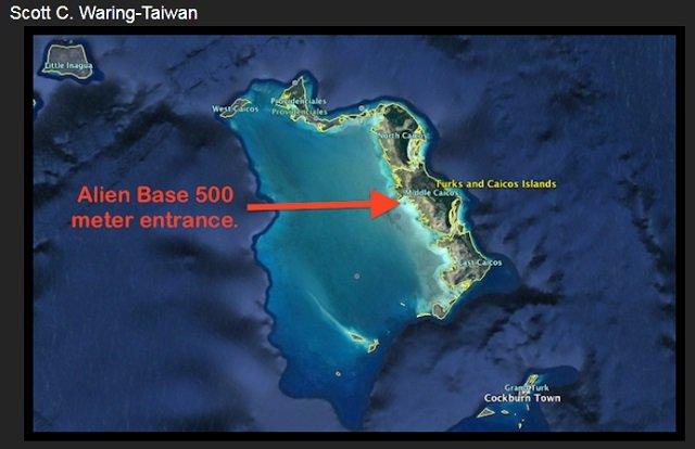 西インド諸島で宇宙人基地のUFO出入口(直径500m)が発見される!! グーグルアースで発覚、研究家断言「海は最高の隠れ場所」の画像1