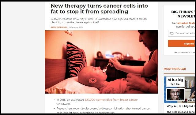 「がん細胞を脂肪に変える治療法」がガチ開発される! 転移を完全阻止、人類の完全勝利か!の画像1