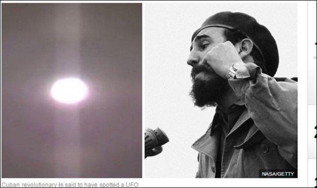 カストロ前議長は生前に「UFO体験」を暴露していた! キューバ革命中に「光り輝く巨大円形UFO」に遭遇して…!の画像1