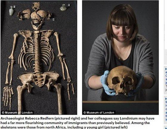 ロンドンの古代遺跡から中国人の骨が出土! 古代ローマ世界はハンパなく国際的だったことが判明の画像1