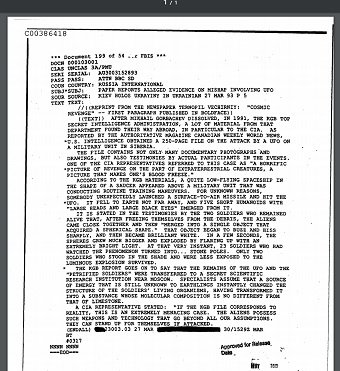 【ガチ】「UFOを撃った後、23人が瞬時に石にされた」CIA公式文書で発覚! ソ連兵が5体の宇宙人に襲撃された衝撃記録!の画像3