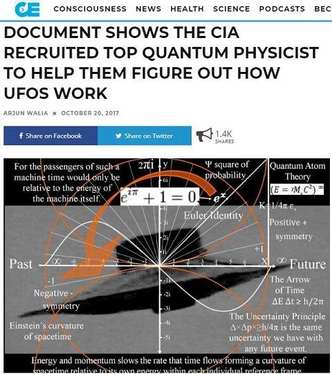 1300万通のCIA極秘文書「CREST」が公開! 多額の黒塗り予算、UFO存在の否定工作… 知られざるUFO極秘情報が判明!の画像2