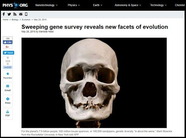【衝撃】ダーウィンの進化論完全崩壊? 「ヒトを含む90%の生物種は20万年前に同時に誕生」研究で判明、生物博士が徹底解説!の画像1