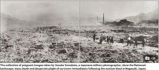 爆心地の地獄がありありと蘇る…! 封印されていた長崎原爆投下直後の記録写真が公開されるの画像1