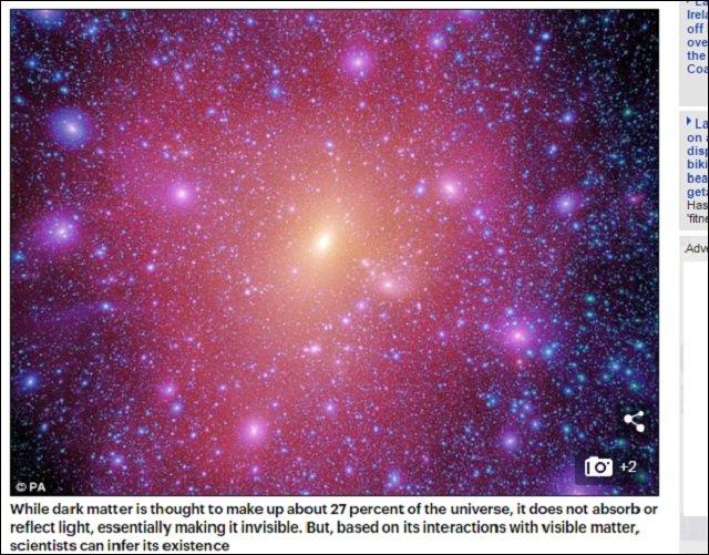 【ガチ】史上初、銀河と銀河をつなぐ謎の「宇宙の架け橋」を発見→撮影される! これがダークマターの可能性もの画像1