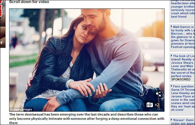 新種セクシャリティ「デミセクシャル(半性愛)」が確認される! 性欲がないのにある新しい愛の形とは?の画像1