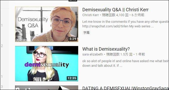 セクシャル デミ