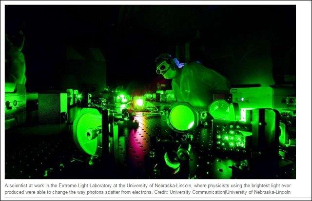 【衝撃】太陽の10億倍明るいレーザー「ディオクレス」が爆誕!  モノの姿を完全に変質させるパワーが判明!(最新研究)の画像1