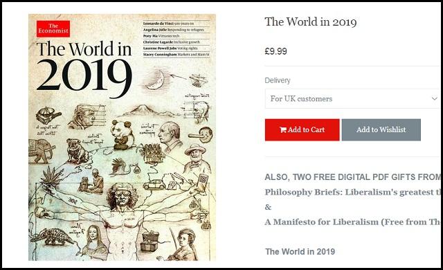 【速報】『エコノミスト2019 世界』の表紙が富士山噴火と人類奴隷化を予言! 大麻、DNA、プーチン…25の不吉な暗示を一挙掲載!の画像2
