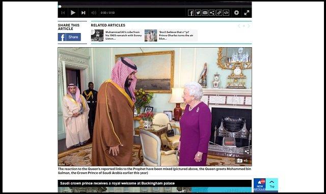 エリザベス女王がムハンマドの直系子孫だった可能性が浮上! 英紙『エコノミスト』が報道、イスラム指導者も認定!の画像2