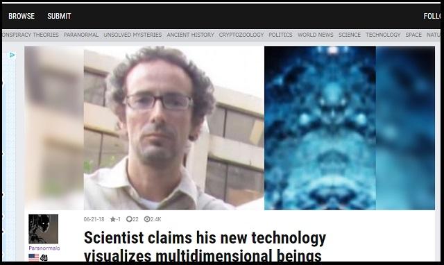 【衝撃】科学者が「異次元の存在」を撮影できる装置を遂に開発! 悪魔、鬼、エイリアン… パラレルワールドの写真1000枚激撮!の画像1