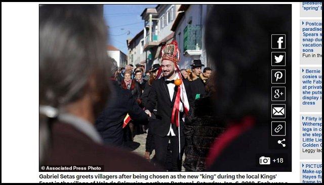 5才児でも喫煙が奨励されるポルトガルの村が超話題! 母親「すぐ煙を吐き出してるから問題ない」、ルーツ不詳の異教の儀式かの画像5