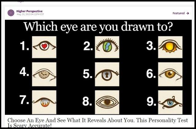 どの目を選んだかで分かる「深層心理テスト」が的中しまくる! あなたの隠れた本性が暴かれる!?の画像1