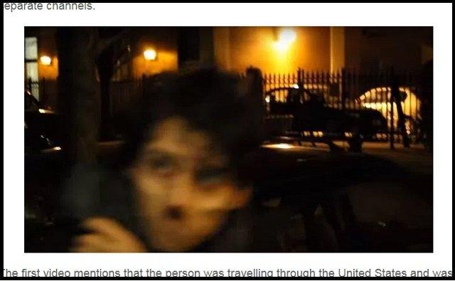 【衝撃動画】NYに出没した「顔なし男」のイケ顔が激撮される! 近隣で大事件も発生、スレンダーマンか?の画像3