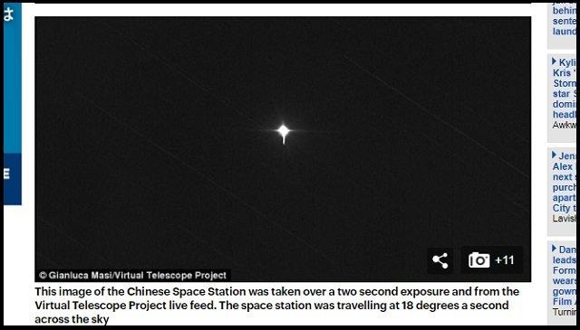 【超悲報】3月30日~4月2日、札幌に中国衛星「天宮1号」が落下する可能性がESA予測で判明! 猛毒物質が散る危険も!? の画像3