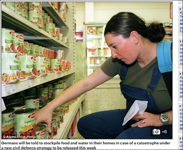 ドイツだけではなく、チェコも国民に「食料備蓄」を義務化!世界で一体何が起きているのか?の画像1