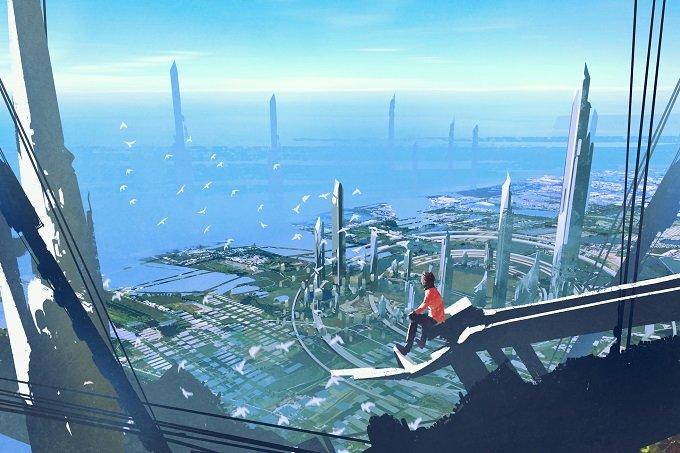 【衝撃】タイムトラベラーが西暦6000年に撮影した未来写真が公開される! 4000年後は想像を絶するバラ色の世界だった!? の画像1