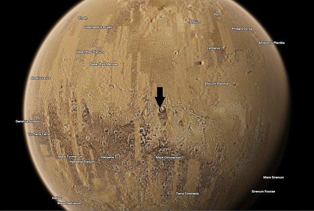 【驚愕】火星に正真正銘の人工施設が建造されていた!