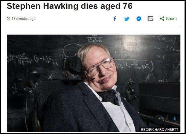 ホーキング博士は完全には死去していない!  パペット人形としてまた蘇る理由とは!? の画像1