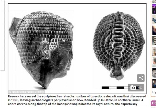 【衝撃】イスラエルで発見された古代エジプトの彫像が仏像にソックリすぎる!「ファラオ=ブッダ」説が浮上、徹底解説!の画像2