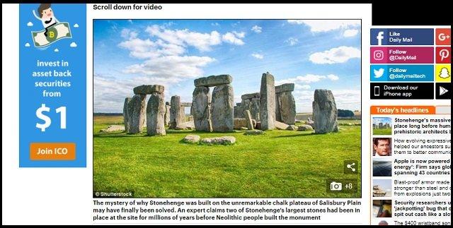 ストーンヘンジの巨石は人類以前から置かれていた可能性! やはり宇宙人の仕業なのか!?の画像1