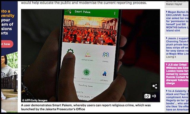 インドネシア政府公認「世界最凶の異端報告アプリ」怖すぎ マイノリティー差別を助長 人権団体が警告の画像1