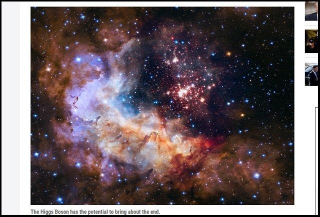 【宇宙終了】「ある日突然、宇宙が終わる日がくる。Xデー迫っているかも」ハーバード大研究者が発表! 暗黒バブル発生で!の画像3