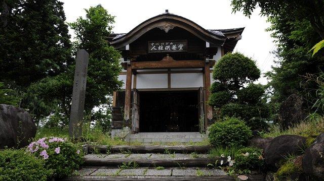 人身御供になった僧侶を祀る「すべりどめ人柱供養堂」に潜入