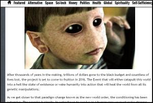 2016年に宇宙人と人間の「ハイブリッド・チルドレン」が地中から出現する。純粋な人間は滅亡への画像1