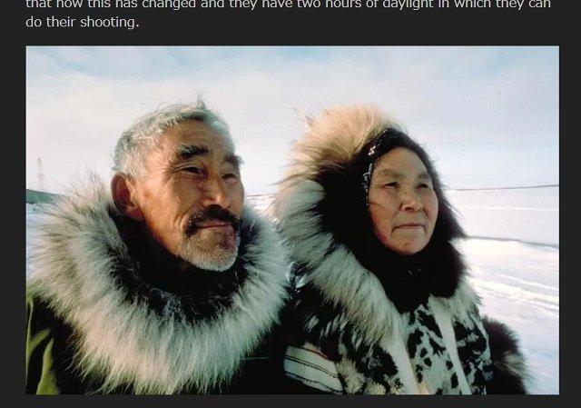 【緊急】イヌイットの長老たちがNASAに本気で警告「異常気象や巨大地震は地球のポールシフトが原因」「太陽があるべき場所にない、空も変わった」の画像1