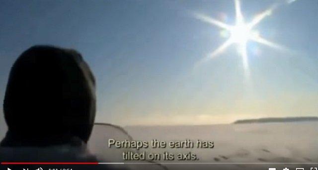 【緊急】イヌイットの長老たちがNASAに本気で警告「異常気象や巨大地震は地球のポールシフトが原因」「太陽があるべき場所にない、空も変わった」の画像2