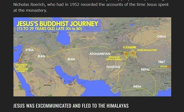 【衝撃】イエス・キリストは「仏教僧ISSA」だった! 謎に包まれた空白の17年間をBBCが検証、聖書に書かれなかった真実とは?の画像3