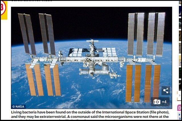 【歴史的発見】未知の生命が国際宇宙ステーションで採取される! ついに人類とエイリアンが邂逅、露宇宙飛行士が緊急発表 の画像4