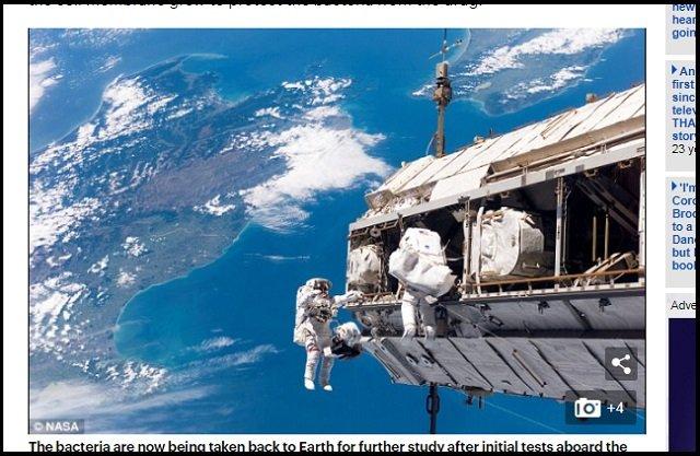 【歴史的発見】未知の生命が国際宇宙ステーションで採取される! ついに人類とエイリアンが邂逅、露宇宙飛行士が緊急発表 の画像1