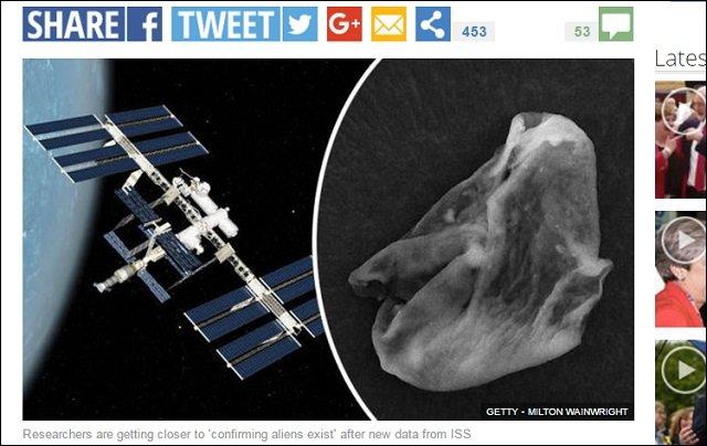 遂に「地球外生命体」の証拠発見、ISSがサンプル採取成功 ! 世界中の研究者が熱狂「ほぼ間違いない!」の画像1