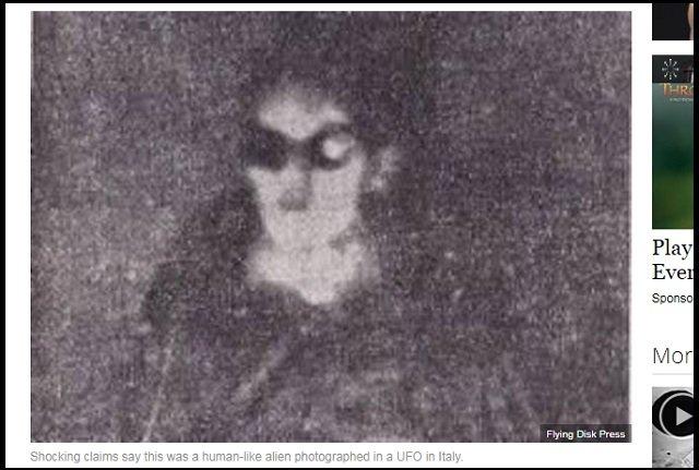 【世界初】UFO内部で撮影された宇宙人の顔写真が公開される! 地元民と20年間交流、外交官も目撃!=伊の画像2