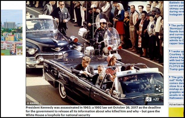 【JFK暗殺文書】ケネディ暗殺の真犯人はニビルエイリアンだった!? トランプ大統領が2,800件以上の機密情報公開、54年前の事件全貌とは?の画像1