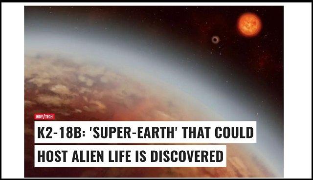 【速報】ありえないほどの「スーパー地球/K2-18b」が111光年先で発見される! エイリアン存在の可能性大!の画像1