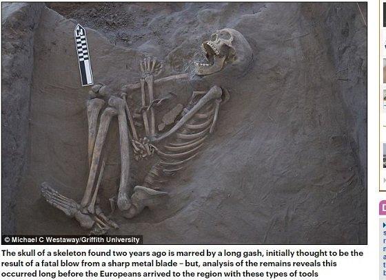 口をあんぐり開けた骸骨「カークジャ」の謎! アボリジニのブーメランが誇るズバ抜けた殺傷力と多彩な用途の画像1