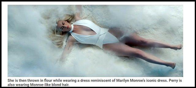 【衝撃】ケイティ・ペリーがイルミナティの完全奴隷であることが発覚! 全裸女体盛り&カニバリズムPVが ロスチャイルドの秘密パーティと酷似!の画像3