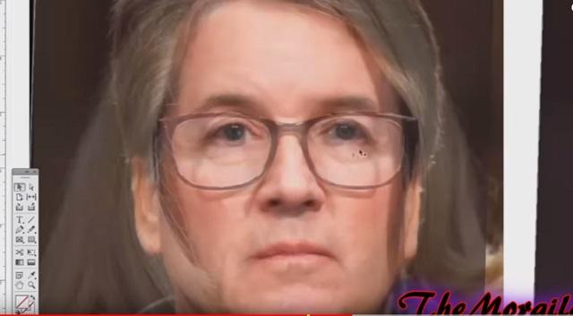 集団レイプ疑惑の米最高裁判事と、告発者の女性は「同一人物」だった! 画像検証で顔面が完全一致、自作自演で決定か!?の画像3