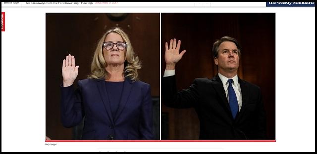 集団レイプ疑惑の米最高裁判事と、告発者の女性は「同一人物」だった! 画像検証で顔面が完全一致、自作自演で決定か!?の画像1