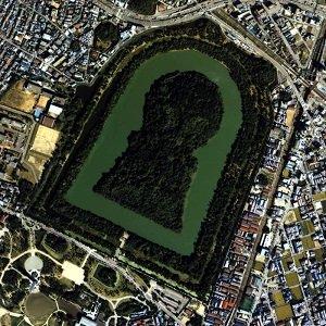 仁徳天皇陵古墳の下には火星人が眠っている! 証拠画像も…世界遺産登録でUFOや宇宙人の謎が明らかになる!!の画像1
