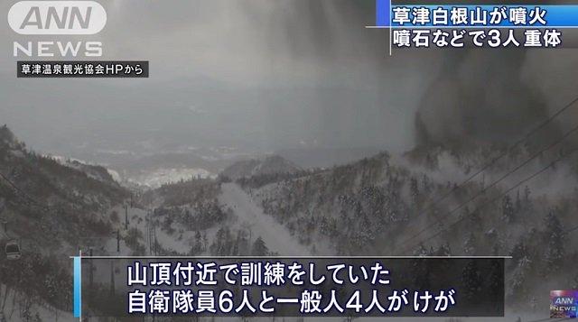 【緊急】草津白根山噴火は富士山噴火の前兆、 Xデーは3月12日!?  地震研究家・予言者も確信、相撲界とも関連!の画像1