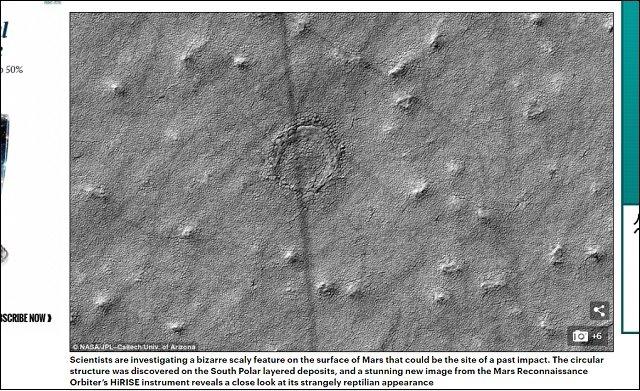 火星で「カークーンの大穴」そっくりの謎の巨大穴をNASAが激写! 科学者も困惑、巨大生物の巣か?の画像3
