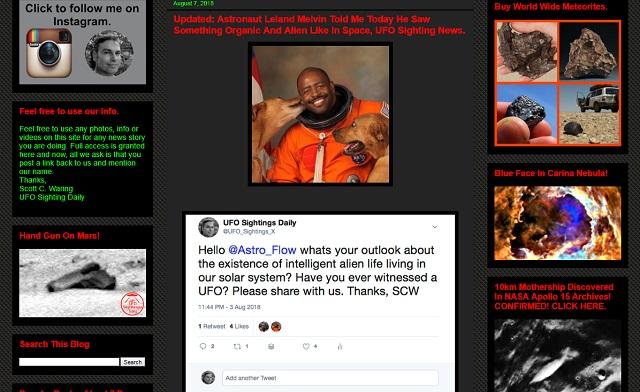 「宇宙でエイリアンのような有機的生命体を見た」NASA宇宙飛行士が暴露! 管制官に報告するも… クラゲ型宇宙人か!?の画像1
