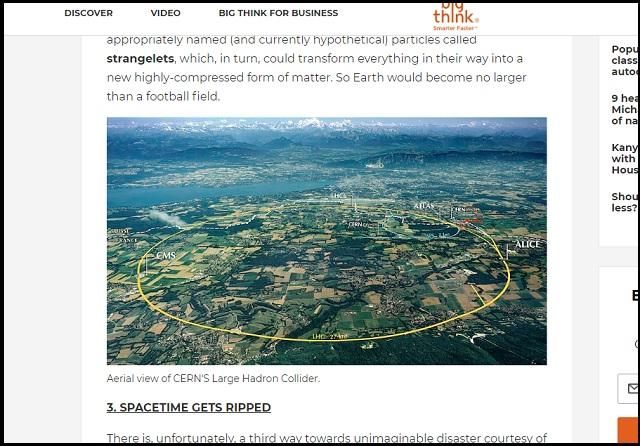 【悲報】「時空を切り裂き、宇宙を崩壊させる」CERNの7倍の威力をもつ中国版LHCがもうすぐ誕生で人類滅亡へ!の画像2