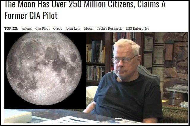 「月には2億5000万人の人々がいる!」元CIAが衝撃暴露! 月面の激ヤバ建造物や宇宙人基地の謎!の画像1