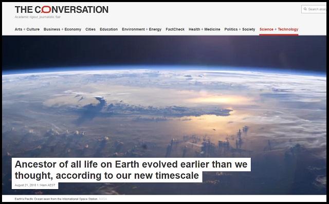 【ガチ】地球生命の最終共通祖先「LUCA」の出現時期が判明! 地球の殺菌消毒を生き延び…!? の画像1